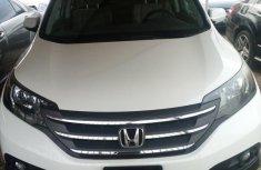Honda CR-V 2013 White for sale