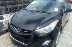 Hyundai Elantra 2012 Black for sale