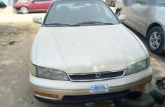 Honda Accord 1997 Coupe Gold for sale