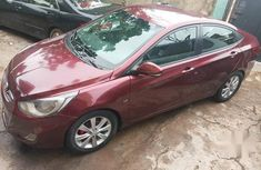 Hyundai Accent 2013 Red for sale
