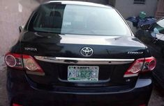 Toyota Corolla 2013 L 4-Speed Automatic Black