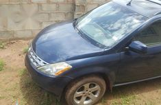 Nissan Murano 2004 SL AWD Blue for sale