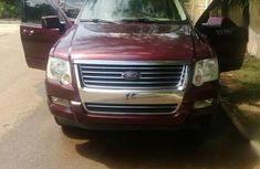 Ford Explorer 2007 Red for sale