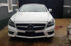 Mercedes-Benz CLS 2012 Whitefor sale
