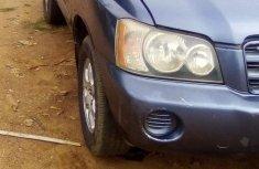 Toyota Highlander 2006 V6 Bluefor sale