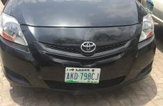 Very clean Toyota Yaris 2007 Black color for sale