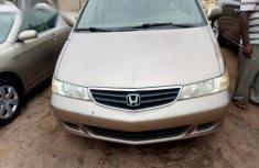 Honda Odyssey 2003 Gold color for sale