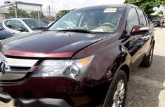 Super Neat Acura MDX 2009 Brown color for sale