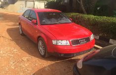 Audi A4 2005 3.0 Red for sale