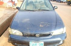 Automatic drive Toyota Corolla 2000 Blue color for sale