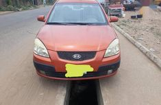 Kia Rio 2007 Orange for sale