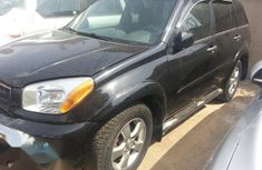 Toyota RAV4 2003 Automatic Black for sale