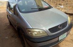 Opel Zafira 2000 Silver for sale