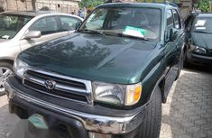 Nigeria used Toyota 4-Runner 1999 Green for sale