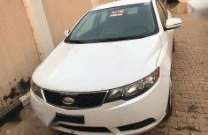 Kia Forte EX Sedan 2011 White for sale