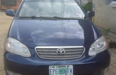 A very clean and perfect Toyota Corolla 2005 Blue for sale
