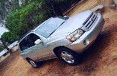 Toyota Highlander 2004 Limited V6 4x4 Silverfor sale