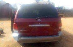 Kia Sedona 2003 Red