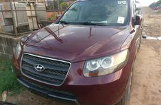 Hyundai Santa Fe 2008 Red for sale