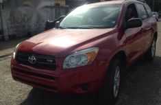 Clean and sharp Toyota RAV4 2006 Red color for sale
