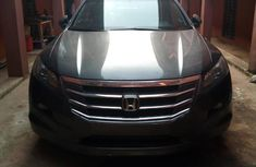 Honda Accord CrossTour 2012 Gray color for sale
