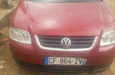 Volkswagen Touran 2005 Red for sale