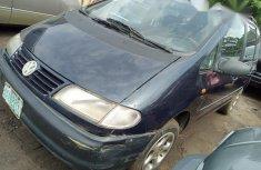Volkswagen Sharan 2001 Blue for sale