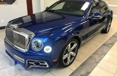 Bentley Mulsanne 2018 Blue for sale