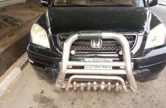 Neatly used Honda Pilot 2003 Black color for sale