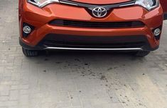 Very clean Toyota RAV4 2016 Orange color for sale