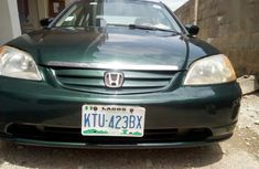 Honda Civic 2002 Green for sale