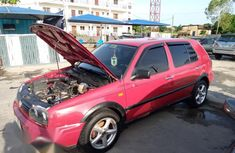 Volkswagen Golf 2002 1.8 T GTI Red for sale