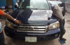 Toyota Highlander 2006 V6 Blue for sale