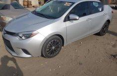 Toyota Corolla 2014 Silver for sale