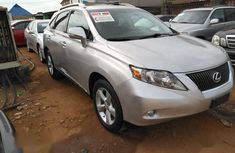 Lexus RX 350 FWD 2012 Silver for sale