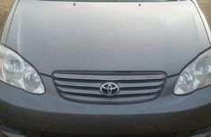 Toyota Corolla 2003 Gray color for sale with no faults