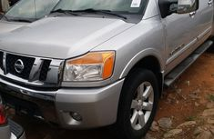 Nissan Titan 2009 Silver for sale