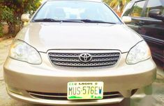 Toyota Corolla LE 2007 Gold for sale