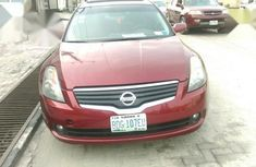 Nissan Altima 3.5 SL 2009 Red for sale