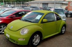 Volkswagen Beetle 2002 Green color for sale