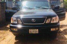 Lexus LX 2001 black for sale