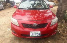 Toyota Corolla 2008 Verso Red for sale