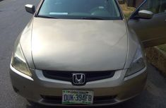Honda Accord Automatic 2005 Gold for sale