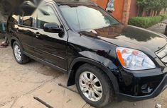 Honda CR-V LX 4WD 2004 Black for sale