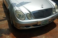 Mercedes-Benz E240 2005 Silverfor sale