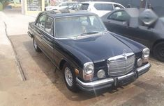 Mercedes-Benz 280E 1973 Black for sale