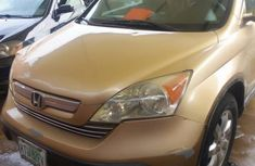 Honda CR-V 2007 EX Automatic Gold for sale