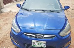 Hyundai Accent 2014 Blue for sale