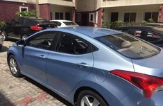 Hyundai Elantra GLS 2012 Blue for sale