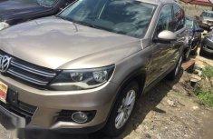 Volkswagen Tiguan S 2013 Gold for sale